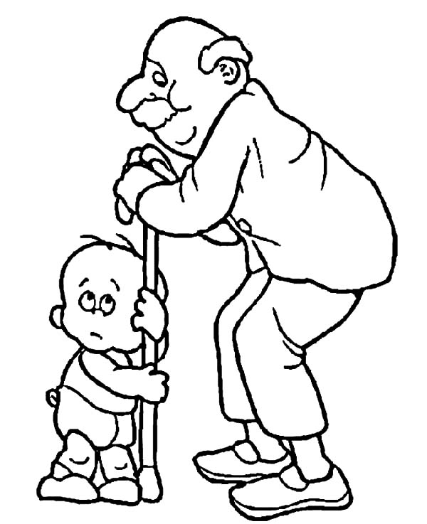 Grandfather, Grandfather Love Me So Much Coloring Pages: Grandfather Love Me so Much Coloring Pages