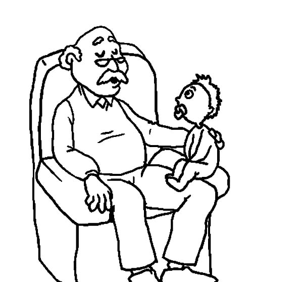 Grandfather, Grandfather Tell Me Stories Coloring Pages: Grandfather Tell Me Stories Coloring Pages