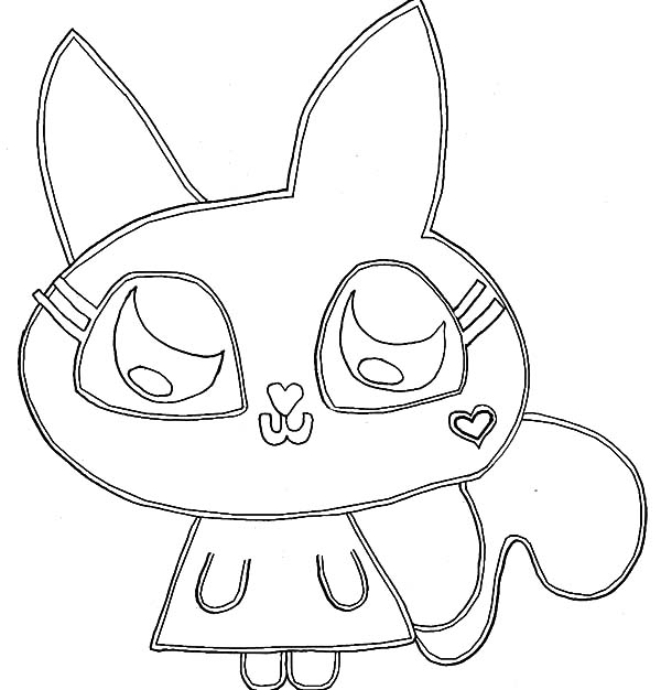 Moshi How To Draw Monster Coloring Pages