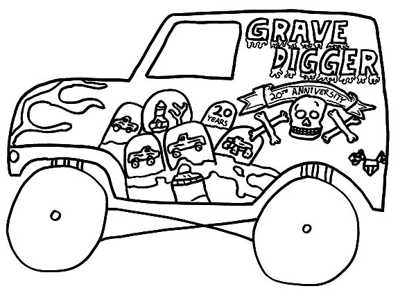 Monster Jam, Kids Drawing Monster Jam Truck Coloring Pages: Kids Drawing Monster Jam Truck Coloring Pages