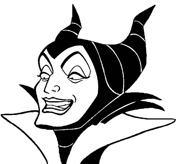 Free printable coloring pages part 51 for Maleficent coloring pages