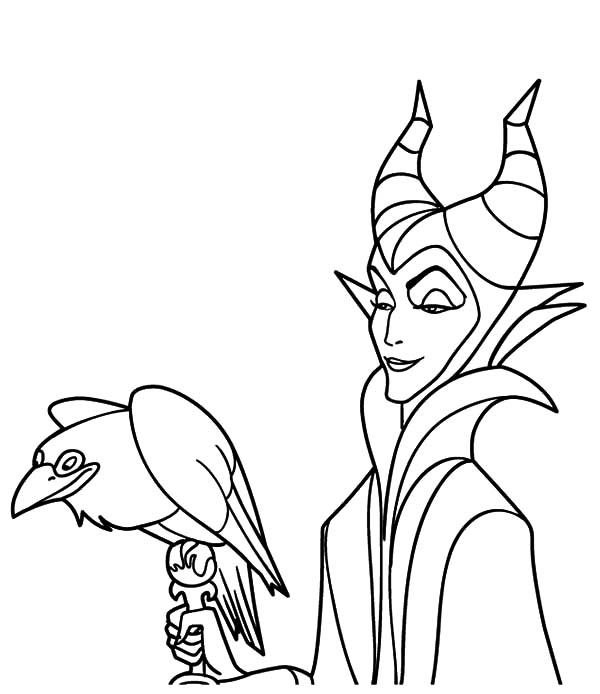 Maleficent, Maleficent Coloring Pages: Maleficent Coloring Pages