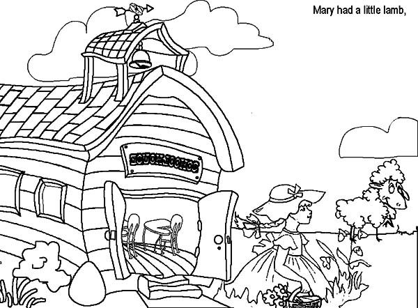 Free Gnome House Coloring Pages