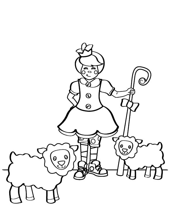 mary had a little lamb and another coloring pages