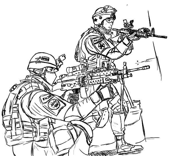 Military, Military Forces Coloring Pages: Military Forces Coloring Pages