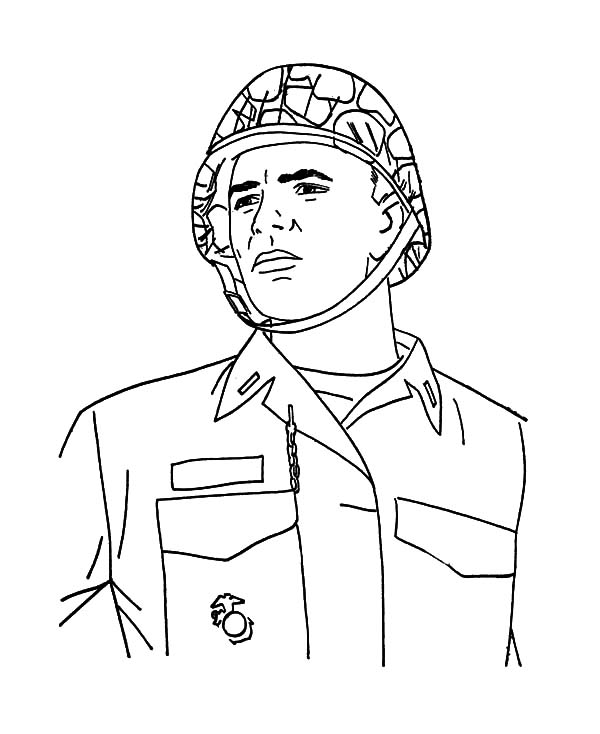 Military, Military Hero Coloring Pages: Military Hero Coloring Pages