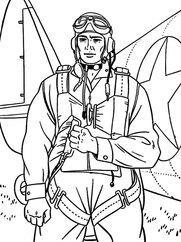 Military soldier bring parachute coloring pages color luna for Coloring pages of army soldiers
