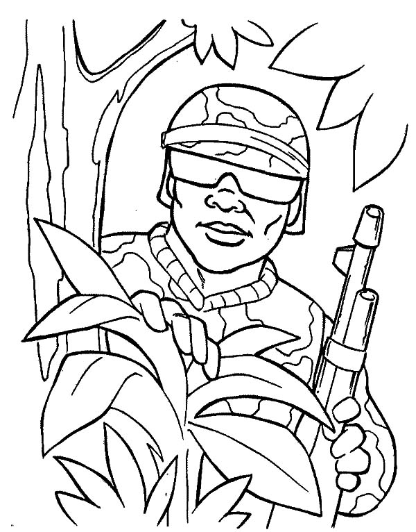 military spy coloring pages