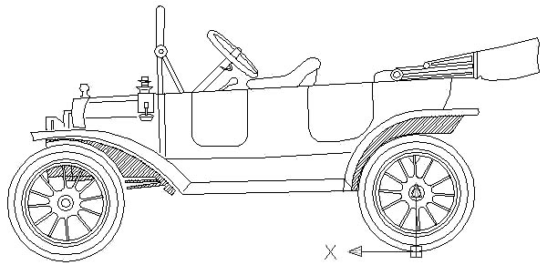 Model t Car, Model T Car Coupe Coloring Pages: Model T Car Coupe Coloring Pages
