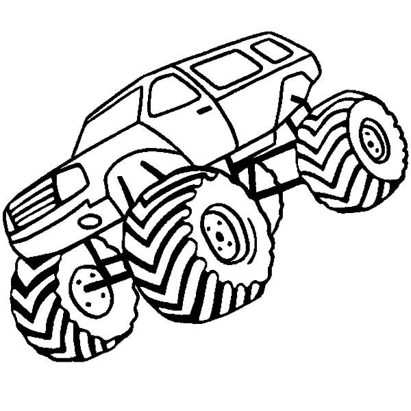 Monster Jam, Monster Jam Championship Race Coloring Pages: Monster Jam Championship Race Coloring Pages