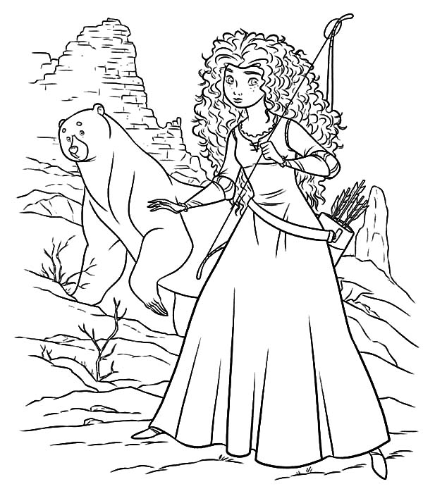 merida coloring pages - free printable coloring pages part 42