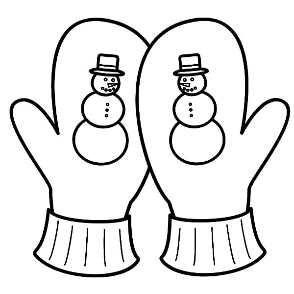 mitten coloring pages  coloring, coloring