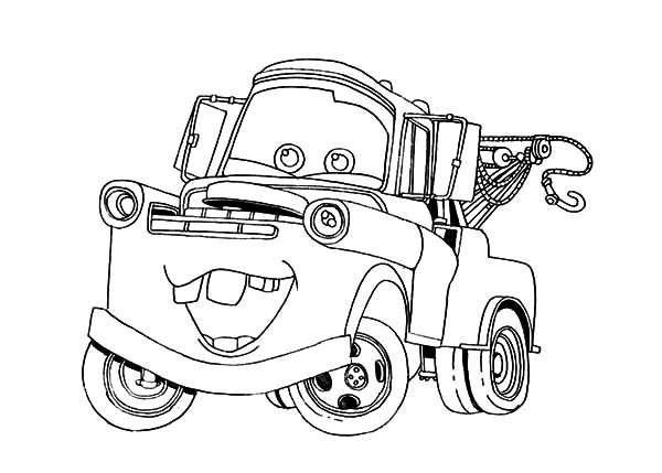 mater monster truck coloring pages more information