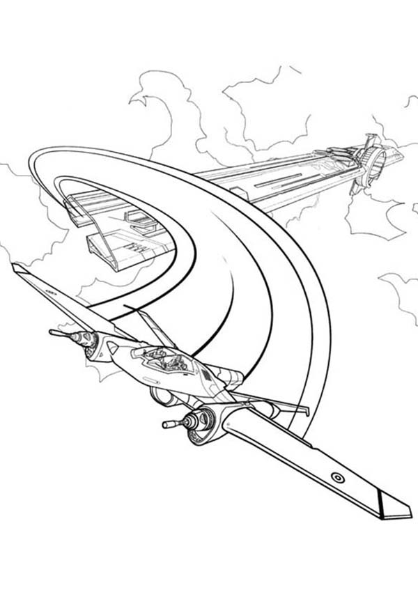 Tron, Tron Legacy Escape with Airplane Coloring Pages: Tron Legacy Escape With Airplane Coloring PagesFull Size Image