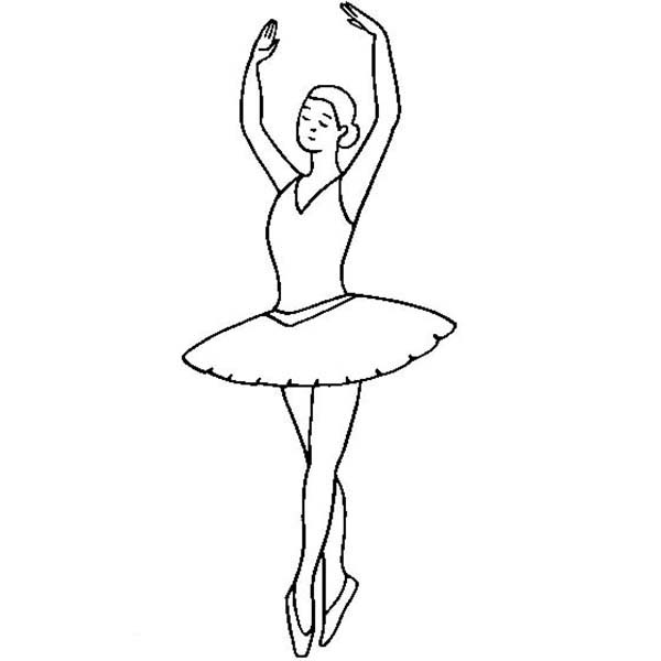 Nuter Ballet Coloring Pages Printable Coloring Pages