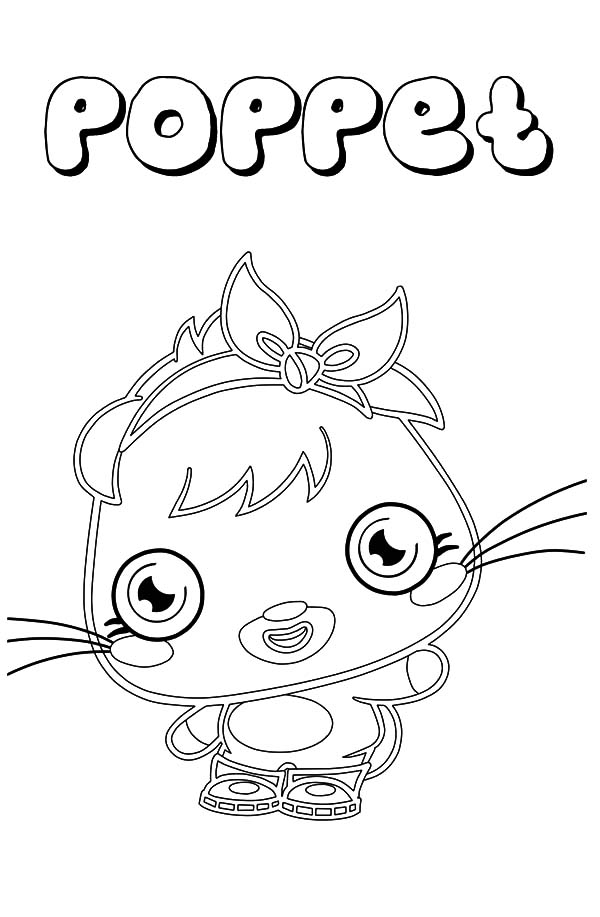 Cute Poppet Moshi Monster Coloring Pages: Cute Poppet ...